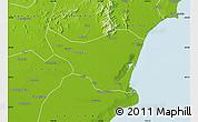 Physical Map of Changli
