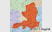 Political Map of Chengde, lighten