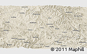 Shaded Relief Panoramic Map of Chicheng