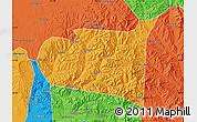 Political Map of Chongli