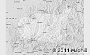 Silver Style Map of Chongli
