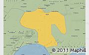Savanna Style Map of Fengnan