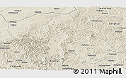 Shaded Relief Panoramic Map of Fengning