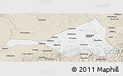 Classic Style Panoramic Map of Guyuan
