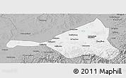 Gray Panoramic Map of Guyuan