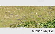 Satellite Panoramic Map of Guyuan