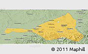 Savanna Style Panoramic Map of Guyuan