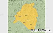 Savanna Style Map of Kangbao