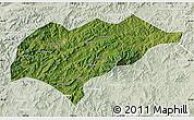 Satellite Map of Kuancheng, lighten