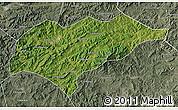 Satellite Map of Kuancheng, semi-desaturated