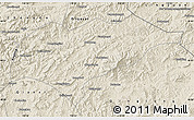 Shaded Relief Map of Kuancheng