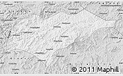 Silver Style Map of Kuancheng
