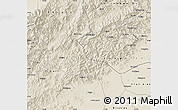 Shaded Relief Map of Laishui