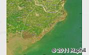 Satellite Map of Leting