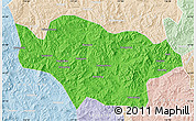 Political Map of Longhua, lighten