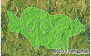 Political Map of Longhua, satellite outside
