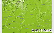 Physical Map of Luan Xian
