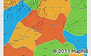Political Map of Luan Xian