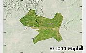 Satellite Map of Luan Xian, lighten