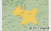Savanna Style Map of Luan Xian