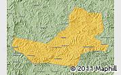 Savanna Style Map of Luanping