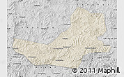 Shaded Relief Map of Luanping, desaturated