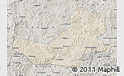 Shaded Relief Map of Luanping, semi-desaturated