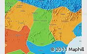 Political Map of Lulong Xian