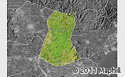 Satellite Map of Lulong Xian, desaturated