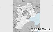 Gray Map of Hebei