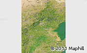 Satellite Map of Hebei