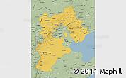 Savanna Style Map of Hebei