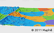 Political Panoramic Map of Neiqiu