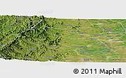 Satellite Panoramic Map of Neiqiu