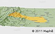 Savanna Style Panoramic Map of Neiqiu
