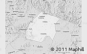 Silver Style Map of Qian An