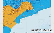 Political Map of Qinhuangdao Shi