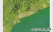Satellite Map of Qinhuangdao Shi
