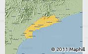 Savanna Style Map of Qinhuangdao Shi