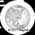 Outline Map of Qinhuangdao Shi