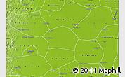 Physical Map of Ren Xian