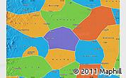 Political Map of Ren Xian