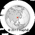 Outline Map of Ren Xian