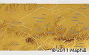 Physical Panoramic Map of Shangyi