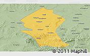 Savanna Style Panoramic Map of Shangyi