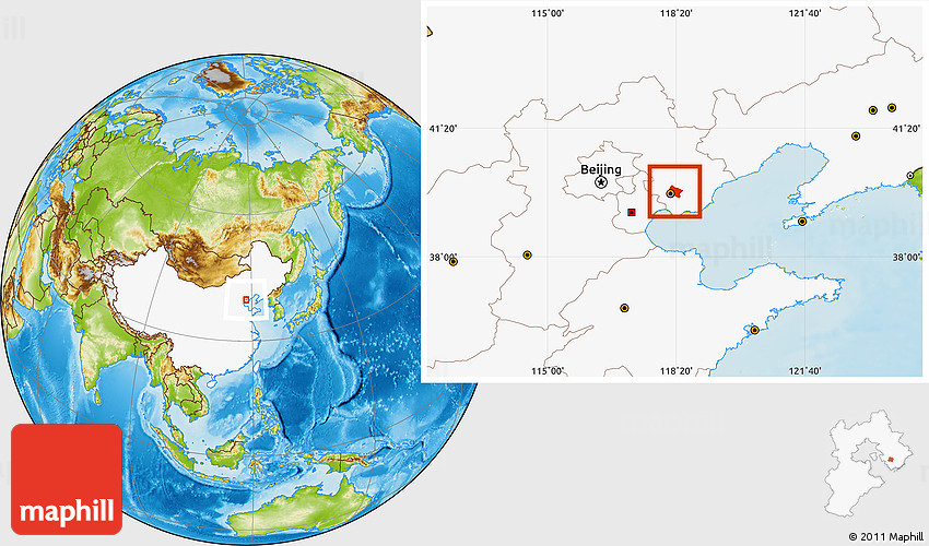 Physical location map of tangshan shi highlighted country 2d gumiabroncs Image collections