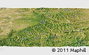 Satellite Panoramic Map of Weichang