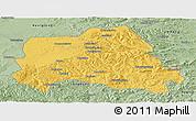 Savanna Style Panoramic Map of Weichang