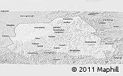 Silver Style Panoramic Map of Weichang