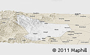 Classic Style Panoramic Map of Wu An